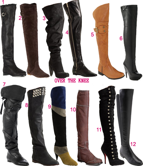 Over the knee boot c**y