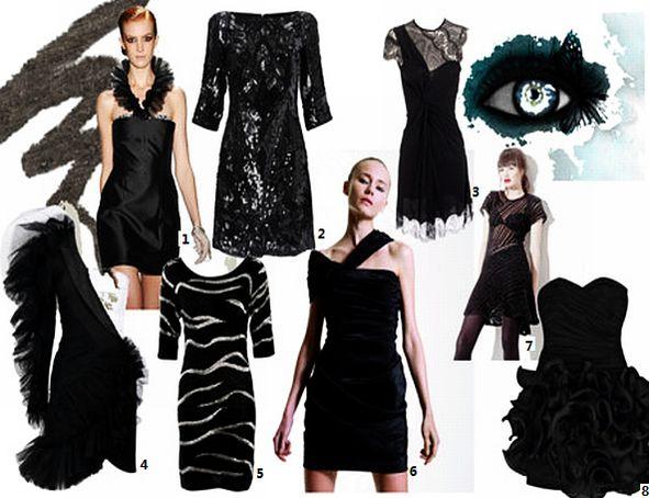 Emma Watson Little Black Dress. one little black dress