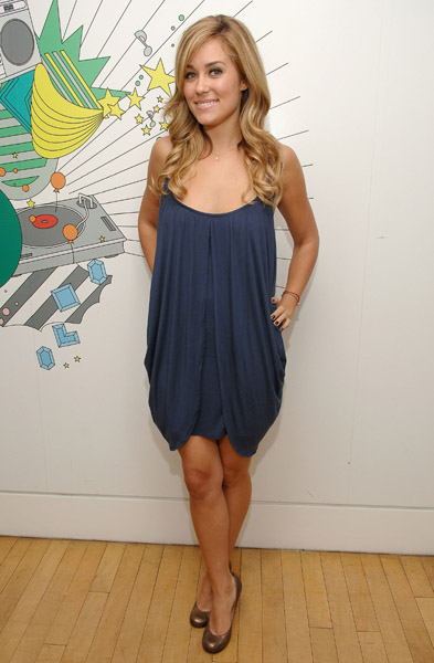 Lauren Conrad in her own design