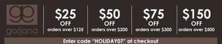 gorjana coupon code