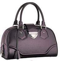 Cheap PURPLE Women Louis Vuitton Bowling Montaigne GM M5931K in Epi...
